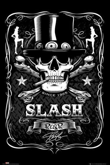 plakat SLASH - LABEL