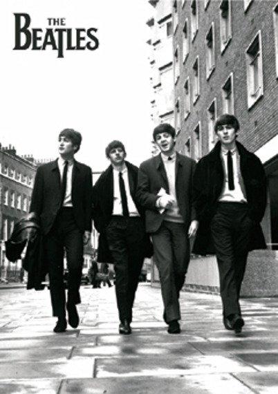 plakat THE BEATLES - IN LONDON