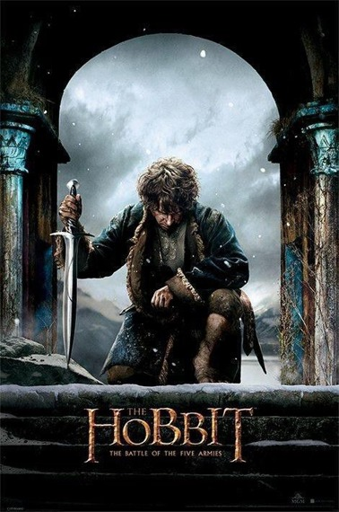 plakat THE HOBBIT - KNEEL