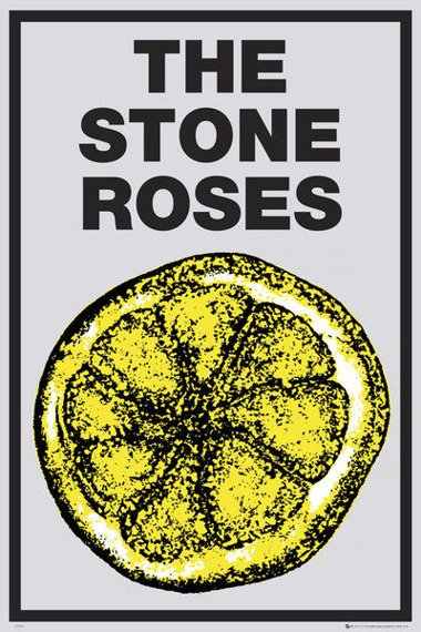 plakat THE STONE ROSES - LEMON (BRAVADO)