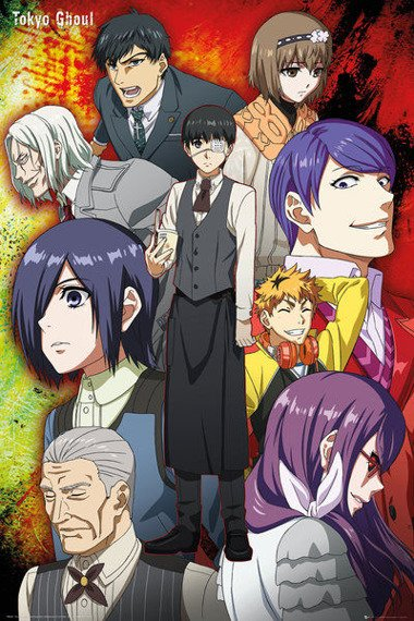 plakat TOKYO GHOUL - GROUP