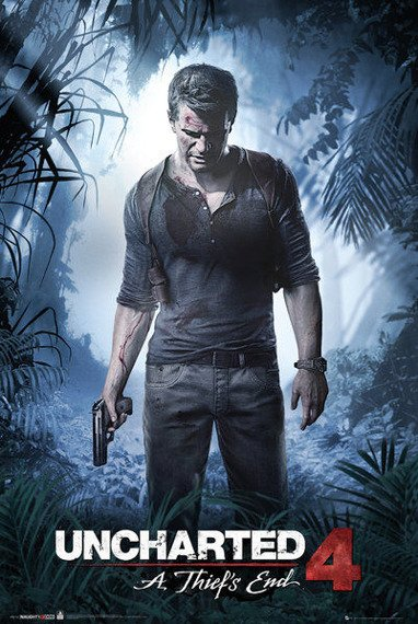 plakat UNCHARTED 4 - A THIEF'S END