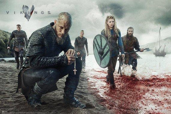 plakat VIKINGS - BLOOD LANDSCAPE