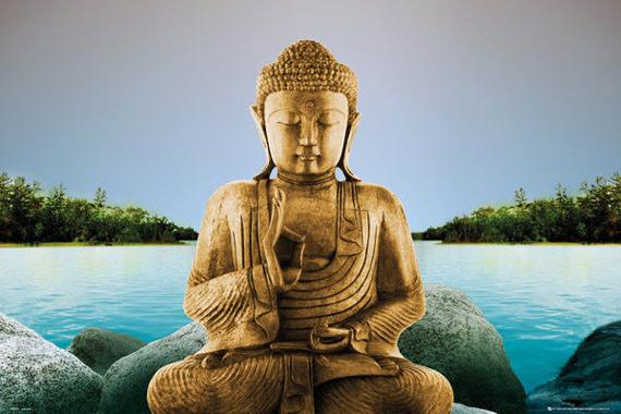 plakat ZEN - BUDDHA LAKE