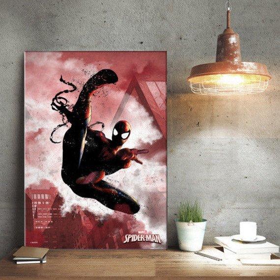 plakat z metalu MARVEL - SPIDER MAN