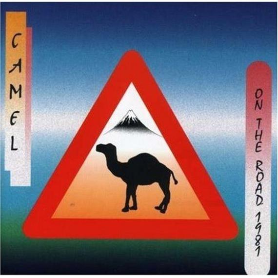 płyta CD: CAMEL - ON THE ROAD 1981