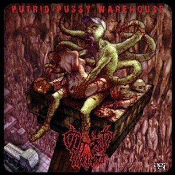 płyta CD: CLITORIDUS INVAGINATUS - PUTRID PUSSY WAREHOUSE