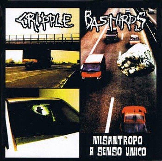 płyta CD: CRIPPLE BASTARDS - MISANTROPO A SENSI UNICO