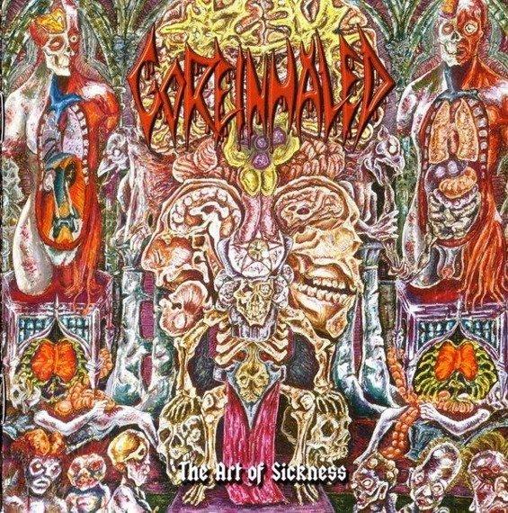 płyta CD: GOREINHALED - THE ART OF SICKNESS