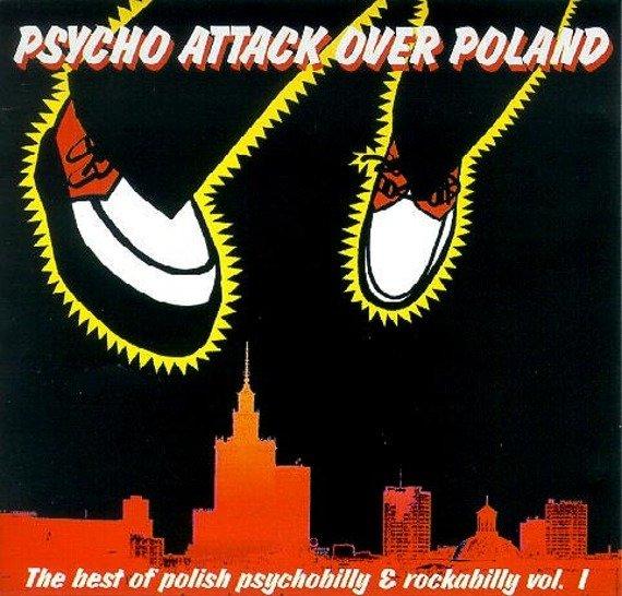 płyta CD: PSYCHO ATTACK OVER POLAND