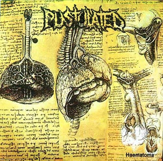 płyta CD: PUSTULATED (US) - HAEMATOMA