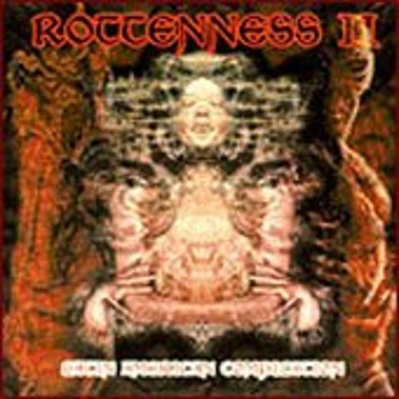 płyta CD: ROTTENNESS II - LATIN AMERICAN COMPILATION