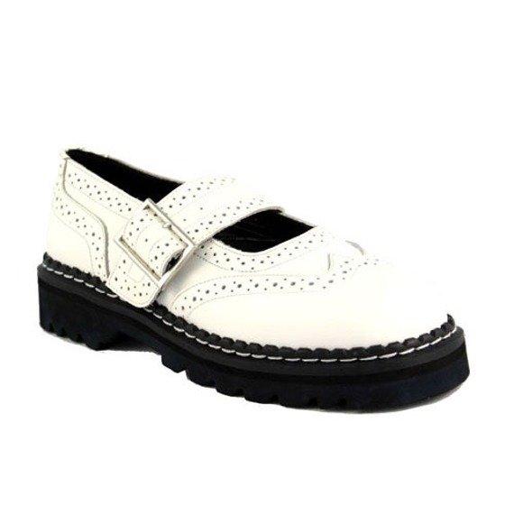 pólbuty  DEMONIA (White Leather) (MJ-118)