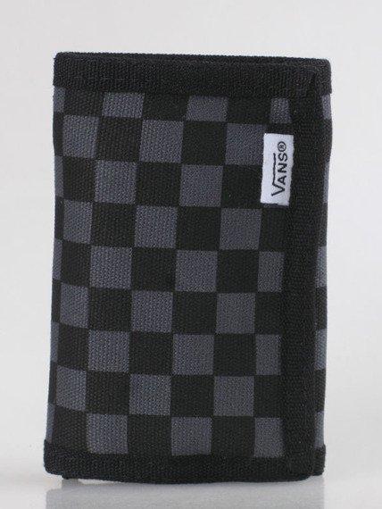 portfel VANS - SLIPPED BLACK/GUNMETAL