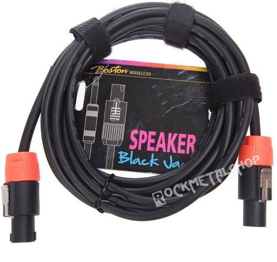 """przewód głośnikowy BOSTON """"Black Jack"""": SPEAKON - SPEAKON / 5m"""
