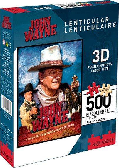 puzzle JOHN WAYNE 3D 500szt
