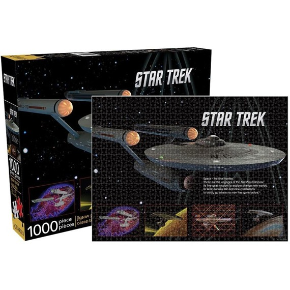 puzzle STAR TREK - ENTERPRISE, 1000 szt