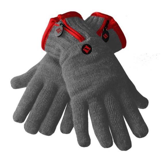 rękawiczki zimowe THINSULATE - CHARCOAL RED