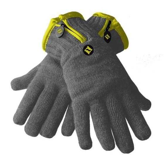 rękawiczki zimowe THINSULATE - CHARCOAL YELLOW