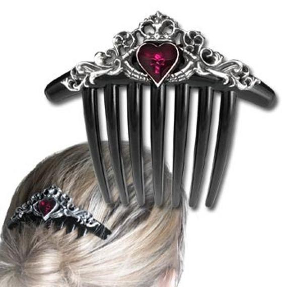 spinka do włosów CLADDAGH HAIR COMB