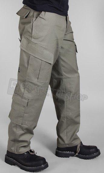 spodnie bojówki ACU MOLESKINHOSE OLIV
