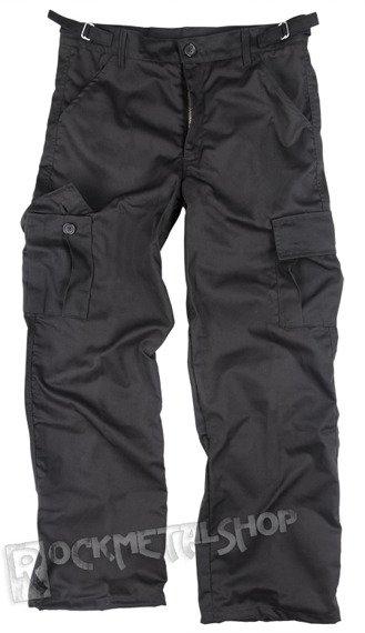 spodnie bojówki CARGO BLACK