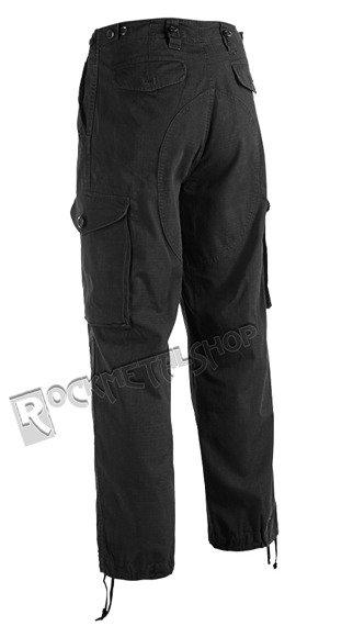 spodnie bojówki HUDSON RIPSTOP TROUSER black