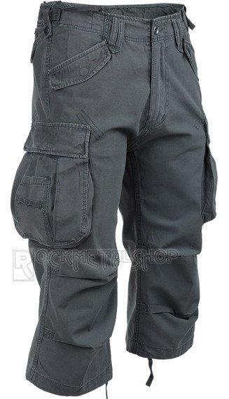 spodnie bojówki INDUSTRY VINTAGE 3/4 - ANTHRAZIT
