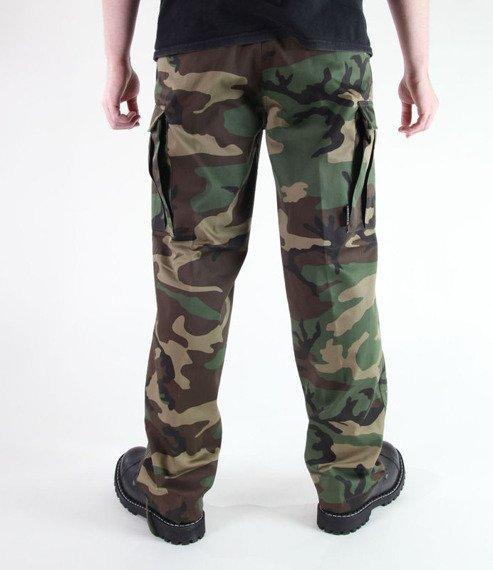 spodnie bojówki US RANGER HOSE TYP BDU WOODLAND
