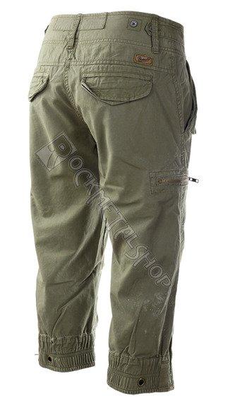 spodnie bojówki damskie SCOTCH 3/4 oliv