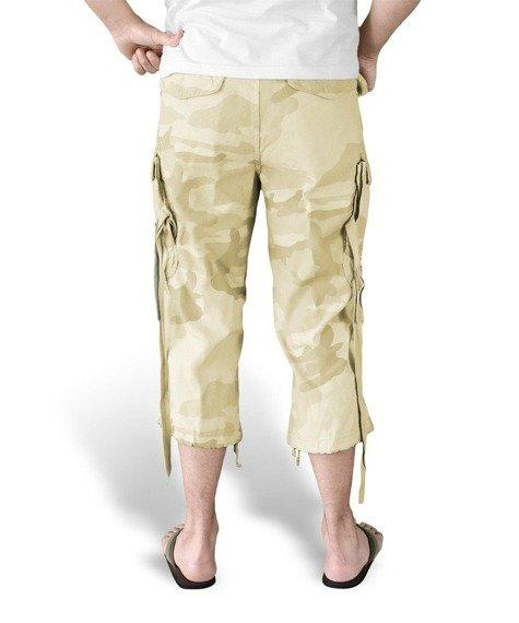 spodnie bojówki krótkie 3/4 ENGINEER VINTAGE desertstorm