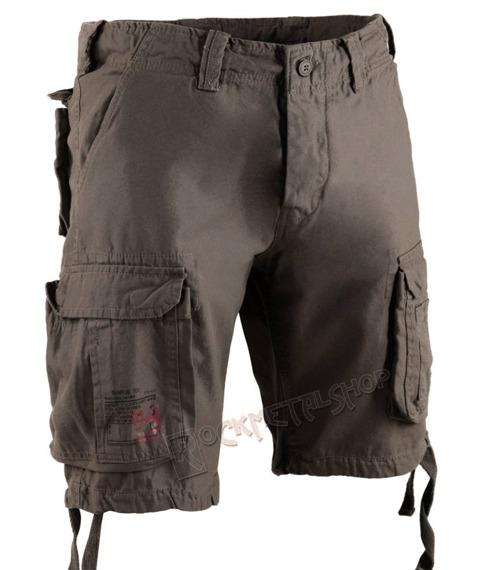 spodnie bojówki krótkie AIRBORNE VINTAGE OLIV