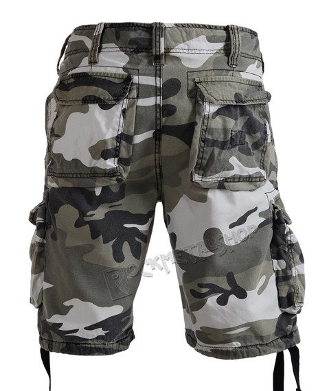 spodnie bojówki krótkie AIRBORNE VINTAGE URBAN