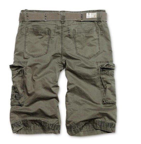 spodnie bojówki krótkie ROYAL SHORT - oliv
