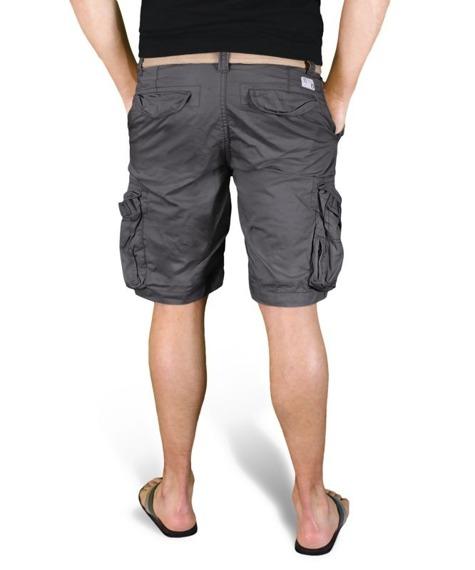 spodnie bojówki krótkie XYLONTUM VINTAGE SHORTS NAVY