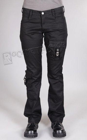 spodnie damskie POCKET HIPSTER czarne