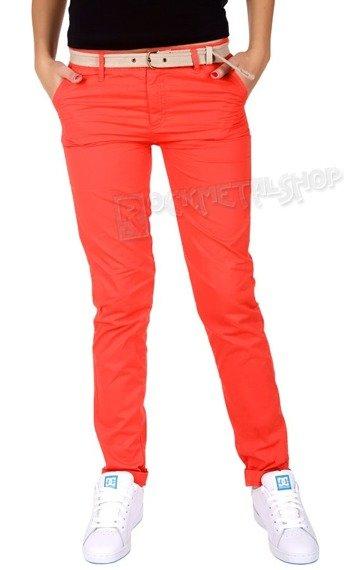 spodnie damskie XYLONTUM CHINO TROUSERS WN RED