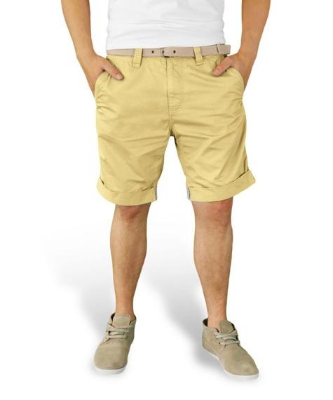 spodnie krótkie XYLONTUM CHINO SHORTS BEIGE