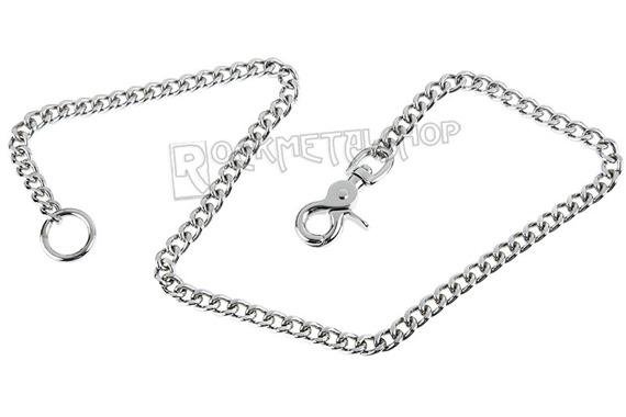 średni łańcuch do kluczy/portfela 75 cm