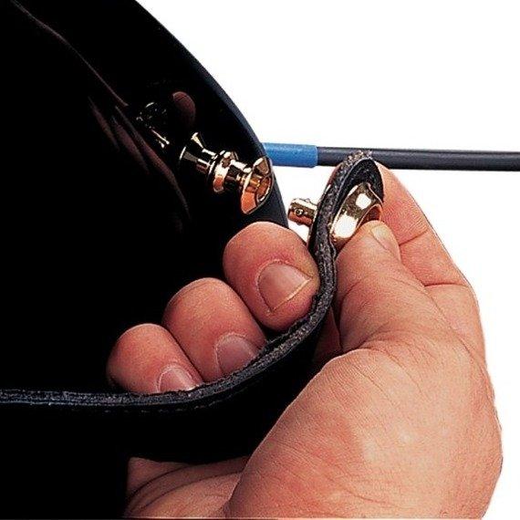 straplock / zaczep do paska DUNLOP BLACK OXIDE FINISH [SLS1503BK] (2szt.)