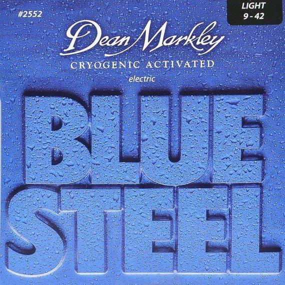 struny do gitary elektrycznej DEAN MARKLEY 2552 BLUE STEEL Light /009-042/