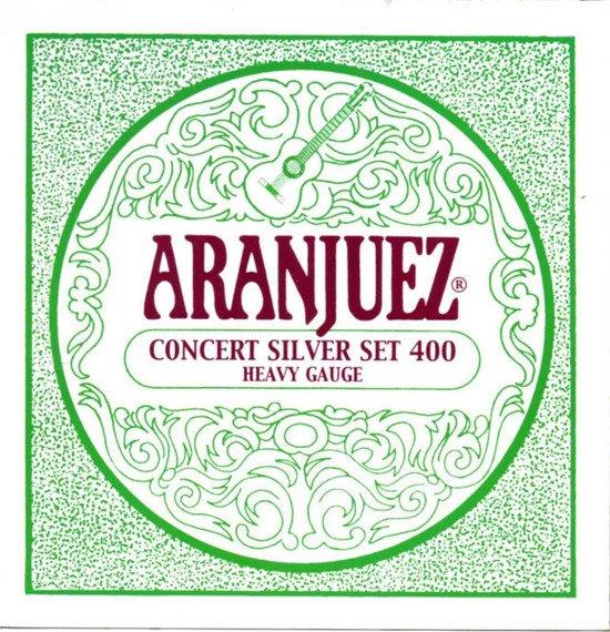 struny do gitary klasycznej ARANJUEZ A400 Concert Silver - High Tension