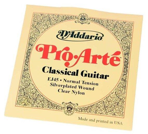 struny do gitary klasycznej D'ADDARIO EJ45 PRO·ARTE /028-043/
