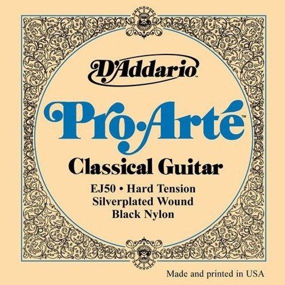 struny do gitary klasycznej D'ADDARIO - PRO ARTE EJ50