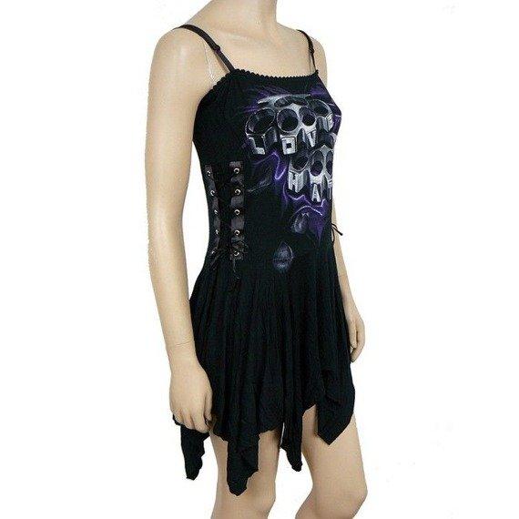 sukienka LOVE 2 HATE czarna
