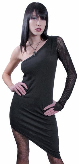 sukienka SPIRAL VESTITO czarna