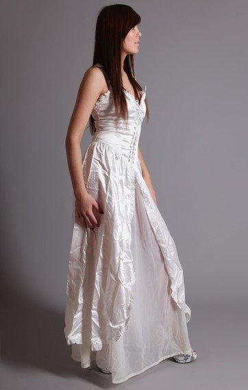 suknia PUNK LONG SATIN (A-5-36-070-01)