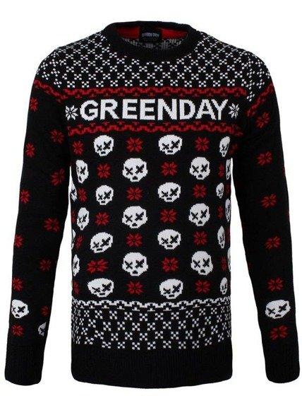 sweter GREEN DAY - SKULL