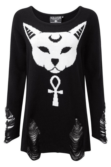 sweter KILL STAR - PURRFECT