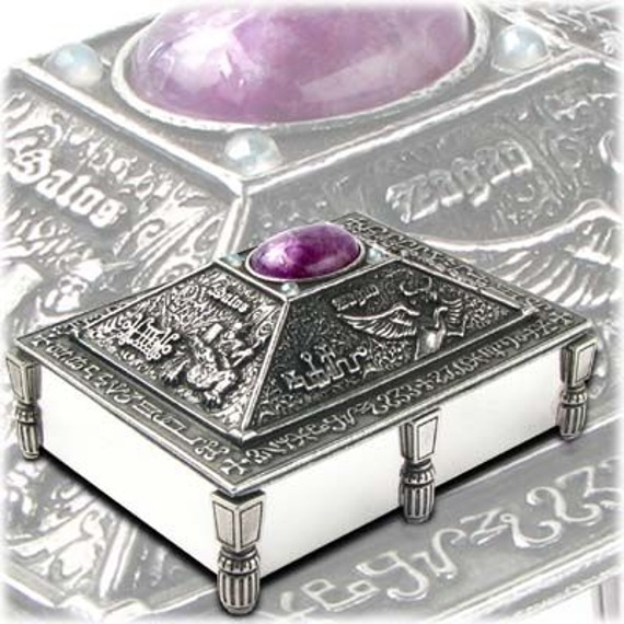 szkatułka + karty ALCHEMY MAGIC BOX